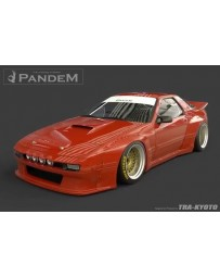 GReddy Pandem 85-92 Mazda RX-7 FC3S Complete Wide Body Aero Kit WITH WING (Special Order)