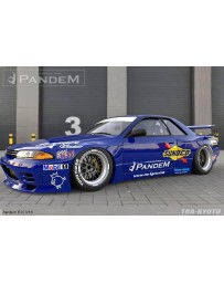 Greedy Pandem Full Body Kit w/o Wing Nissan Skyline GTR V1.5 1989-1994