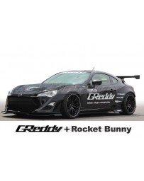 GReddy X Rocket Bunny Version 1 Side Skirts Subaru BRZ / Scion FRS / Toyota GT-86 2013-2015