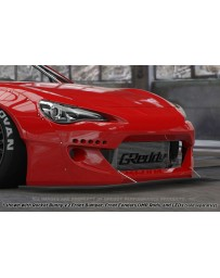 GReddy Rocket Bunny Version 2 Front Splitter Subaru BRZ / Scion FRS / Toyota GT-86 2013-2015
