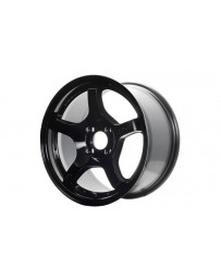 Gram Lights 57CR 17x9 +38mm Offset 5x100 Glossy Black Wheel