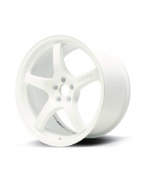 Gram Lights 57CR 18x9.5 +38 5x100 Ceramic White Pearl Wheel