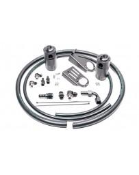 Radium Engineering Nissan S15 Silvia / 200SX Dual Catch Can Kit