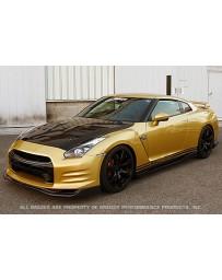 GReddy Top Secret - R35 Side Diffuser - Carbon Nissan GT-R R35 2009+