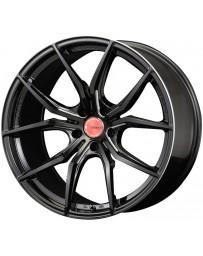 Gram Lights 57FXX 18x9.5 +15 5-114.3 Black & Machining Wheel
