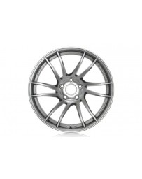 Gram Lights 57XTC 17x7.0 +48 5-100 Shining Silver / Diamond Cut Wheel