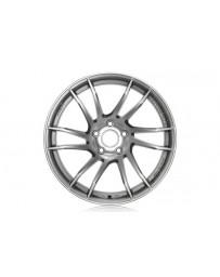 Gram Lights 57XTC 18x7.5 +50 5-100 Shining Silver Wheel
