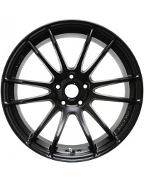 Gram Lights 57XTREME 18x9.5 +22 5-114.3 Semi Gloss Black Wheel