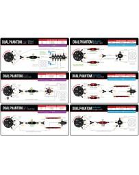 Aeromotive Fuel Pump - Universal - Phantom - Dual 340 - 6-10in Depth