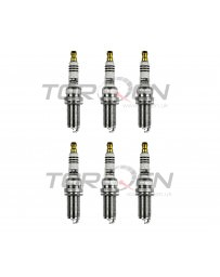 370z HKS M-Series Super Fire Spark Plugs - for stock normally aspirated engines - Set of 6