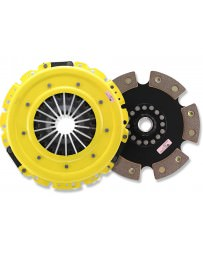370z ACT Clutch Kit, Heavy Duty Pressure Plate with 6-Pad Rigid Race Disc