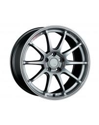 SSR GTV02 Wheel Silver 18x7.5 5x114.3 43mm