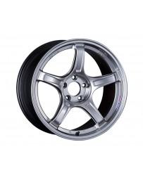 SSR GTX03 Wheel 18x7.5 5x100 48mm Platinum Silver