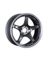 SSR GTX03 Wheel 18x8.5 5x100 45mm Black Graphite
