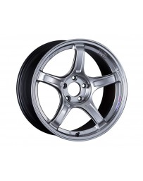 SSR GTX03 Wheel 18x8.5 5x100 45mm Platinum Silver