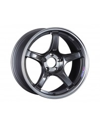 SSR GTX03 Wheel 18x9.5 5x114.3 12mm Black Graphite