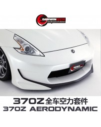 DarwinPRO 370Z Amuse Style Wide Body Kit - Rear Bumper PCF