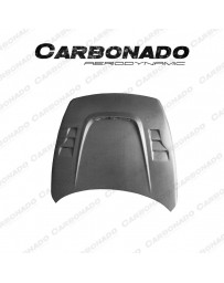 Carbonado BSD Style Carbon Fiber Bonnet For Nissan 370Z Dry Carbon +30%