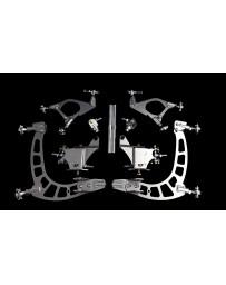 FDF RaceShop TOYOTA SUPRA/SOARER MANTIS ANGLE KIT Without Billet inner tierod adaptor & 7075 tierod FDF Silver