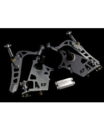 FDF RaceShop FORD MUSTANG SN95 MANTIS ANGLE KIT Without Full Knuckle Replacement FDF Silver