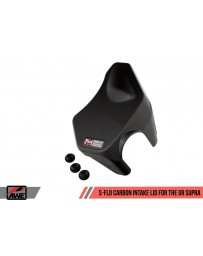 Toyota Supra GR A90 MK5 AWE Tuning S-FLO Carbon Intake Lid