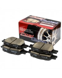 300zx Z32 Centric Posi-Quiet Ceramic Brake Pads, Front - Nissan Skyline GT-R 89-94 R32 Non Spec-V