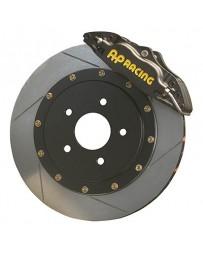"300zx Z32 AP Racing Rear Big Brake Kit Track Version 13"" 2pc Slotted Rotors Black"