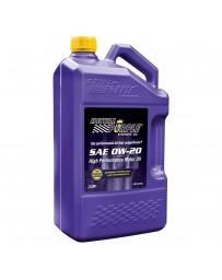 Royal Purple API-Licensed Multi-Grade SAE 0W-20 Synthetic Motor Oil, 5 Quarts x 3