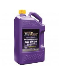 Royal Purple API-Licensed Multi-Grade SAE 5W-20 Synthetic Motor Oil, 5 Quarts x 3