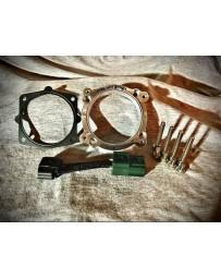 Simplistic Garage 75mm Throttle Body Adapter and Harness (DE1002) VQ35DE 03-07 G35, 03-06 350z, 06-09 M35, 03-08 Maxima