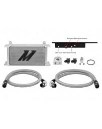 350z Z33 Mishimoto Oil Cooler Kit Silver Non-Thermostatic