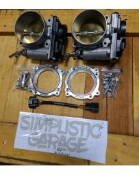 Simplistic Garage Complete 75mm Throttle Body Kit (HR/VHR2003) VQ35HR/VQ37VHR G35 07-08 350z G37FX37 370Z Infiniti Q50 Q60