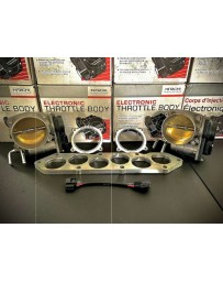 Simplistic Garage 75mm Throttle Body Tubular Intake Manifold Flange Kit (VHR4001) VQ37VHR (G37, Nissan 370Z Infiniti Q50, Q60)