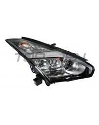 R35 GT-R Nissan OEM Headlight Assembly, Lightning Bolt LED, RIGHT 2017+ RHD