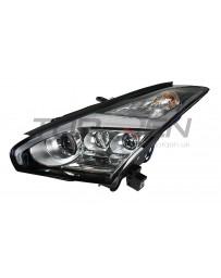 R35 GT-R Nissan OEM Headlight Assembly, Lightning Bolt LED, LEFT 2017+ RHD