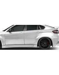 2008-2014 BMW X6 X6M AF-3 Wide Body Rear Door Caps ( GFK ) - 2 Piece (S)