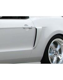 2010-2014 Ford Mustang Duraflex Boss Look Side Scoops - 2 Piece