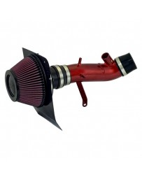 EVO 8 & 9 K&N 69 Series Typhoon Aluminum Red Cold Air Intake System