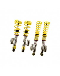 "EVO 8 & 9 KW Suspensions 0.9""-2.0"" x 0.9""-2.0"" Front and Rear V3 Inox-Line Coilover Lowering Kit"
