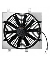EVO 8 & 9 Mishimoto Performance Electric Fan with Aluminum Shroud Kit