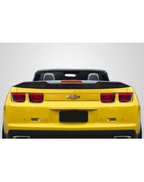 2010-2013 Chevrolet Camaro Convertible Carbon Creations A Spec Rear Wing Spoiler - 1 Piece