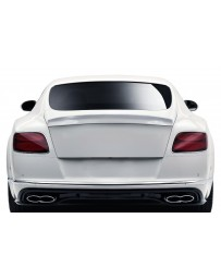 2012-2017 Bentley Continental GT Coupe V8 AF-1 Trunk Wing Spoiler ( GFK ) - 1 Piece