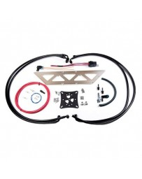 EVO 8 & 9 Radium Fuel Surge Tank Kit