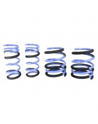 """370z Z34 ISC Suspension 0.6"""" x 0.55"""" Triple S Front and Rear Lowering Springs"""