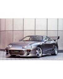 Veilside Toyota SUPRA JZA80 C-I Overfenders Bonnet FRP&Carbon
