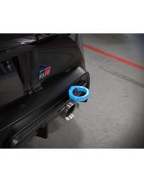 Toyota Supra GR A90 MK5 aFe Control Rear Tow Hook Blue