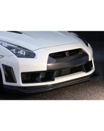 VeilSide FULL Carbon Front Bumper Spoiler Nissan Skyline GTR R35 2009-2011