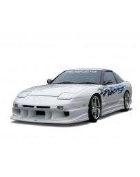 VeilSide 1989-1994 Nissan 240SX RPS13 180SX Hatchback D1-GT Model Rear Bumper Spoiler (FRP)