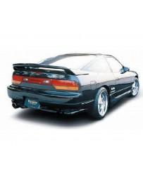 VeilSide 1989-1994 Nissan 240SX RPS13 180SX Hatchback E-II Model Rear Skirts (FRP) 3 Pieces
