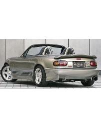 VeilSide 1990-1998 Mazda Miata Roadster NA6CE/ NA8CE C-I Model Rear Half Spoiler (FRP)